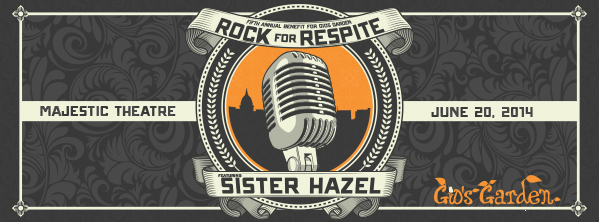 Rock for Respite | June 20, 2014 at The Majestic Theatre | Featuring Sister Hazel