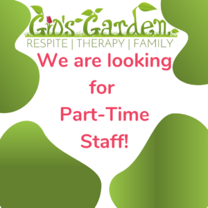 Looking for Part-Time Staff