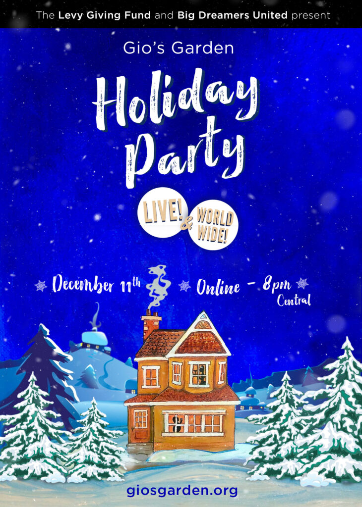 2021 Holiday Party Line and Online announcement